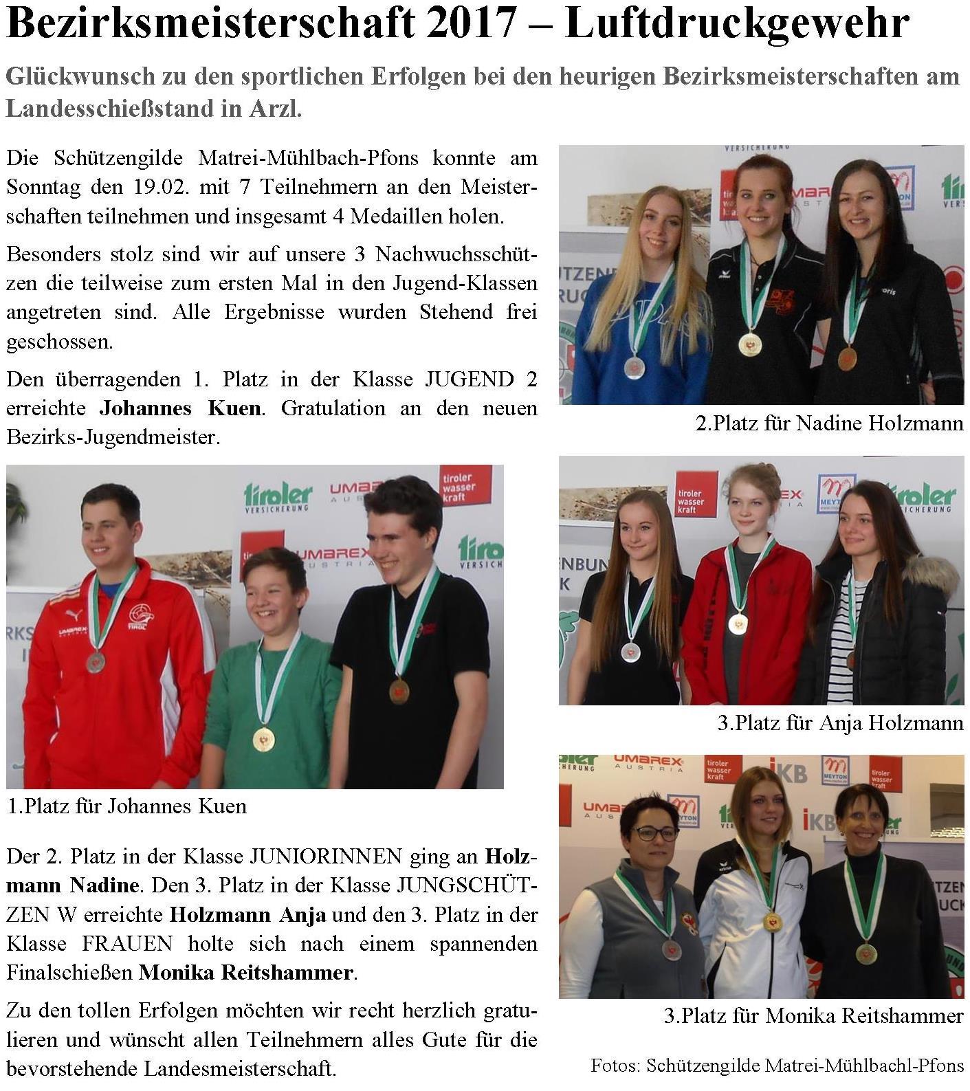 Bezirksblätter Stubai-Wipptal